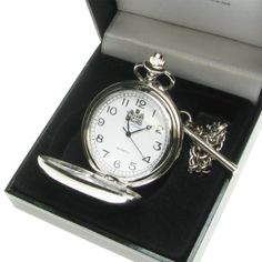 Boy's Christening Gift, Engraved St Christopher Pocket Watch in a Quality Presentation Box, Boy Christening Gift, Christening Gift Ideas:Amazon.co.uk:Kitchen & Home