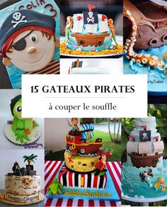 Piratkage: opskrifter til at ryste dine smagsløg - Jack West Pirate Birthday Cake, Baby Boy Birthday, Boy Birthday Parties, Cake Designs For Boy, Pirate Theme, Cupcake Cookies, Party Cakes, Eat Cake, Kids Meals