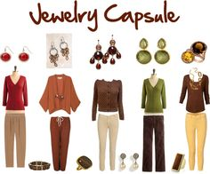 """""""Start with Ten: Jewelry Capsule"""" by jeaninebyers on Polyvore"""
