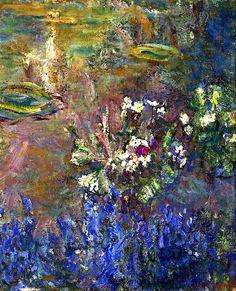 Lilies by Claude Oscar Monet