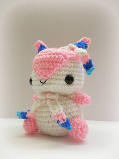 Crochet Sylveon Inspired Chibi Pokemon от MissJennysCrochet, $25.00