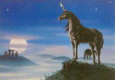 Stonehenge Unicorn Sue Dawe