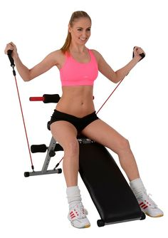 Christopeit Sport® Bauchtrainer mit Elastikzügen, »BG 2« für 69,99€. Training der Bauch-, Rücken und Hüftmuskulatur bei OTTO
