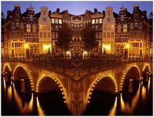 Amsterdam, the Netherlands!  Great city, great vibe and a lovely place to shop!
