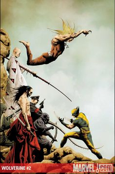 WOLVERINE #2//Jae Lee/L/ Comic Art Community GALLERY OF COMIC ART