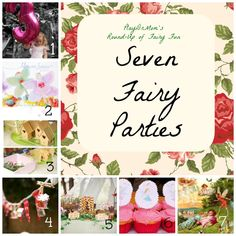 PlayDrMom rounds up posts on Fairy Party Ideas.