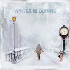 Winter is Coming by Lynne Anzelc Designs