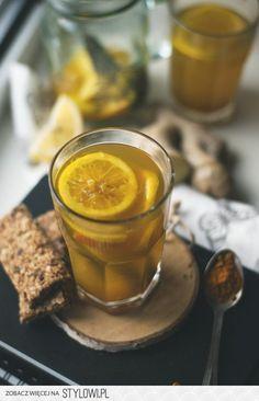 Herbata z imbirem i kurkumą na Stylowi.pl Autumn Photography, African Animals, Candle Jars, Tea Time, Christmas Time, Fruit, Coffee, Cooking, Health