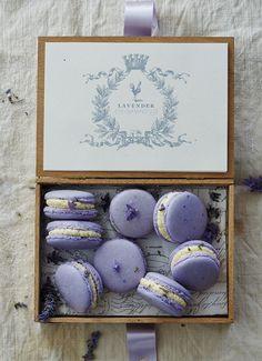Frivolous Fabulous - French Lavender Macarons