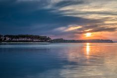 Porto Cesareo ci sorprende sempre con i suoi tramonti...