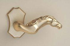 Custom Door Hardware Telluride lever H & rose H Door Knobs And Knockers, Knobs And Handles, Knobs And Pulls, Door Handles, Pull Handles, Door Pulls, Equestrian Decor, Equestrian Style, Cool Doors