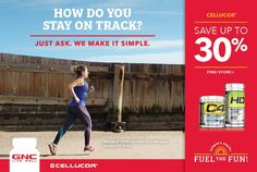 Cellucor - Ends June 21st , 2016 - Fitness, Health, Wellness, Run, Workout, EatClean, Exercise Stay On Track, How To Know, Make It Simple, Promotion, 21st, June, Canada, Wellness, Exercise