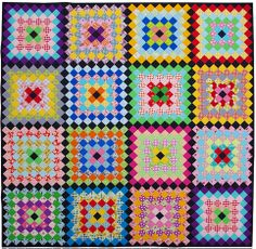 Red Pepper Quilts: Philadelphia Pavement Quilt - A Finished Quilt