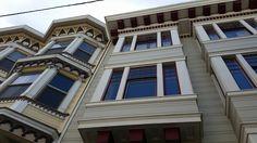 Soundproofed windows at Folsom street, San Francisco. Http://www.castlewindowcovers.com  #sountite #magnetite