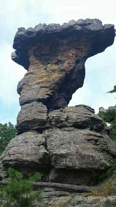 Pedestal Rock somewhere in AR.