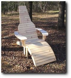 21-5810 - Beer Bottle Adirondack Chair And Footrest Woodworking Plan…