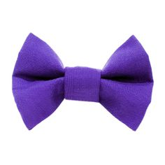The Manager on Duty Purple Cat Bow Tie by sweetpicklesdesigns