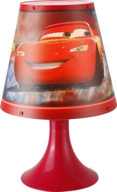 Veioza pentru copii Globo CARS 662382 Fulger McQueen