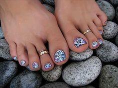 Ricostruzione delle unghie piedi e nail art in gel Pagina 2 - Fotogallery Donnaclick