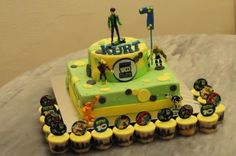 Other Ben 10 cake