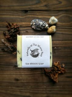 Sea Breeze Soap — Naturally at the Wrens Nest Seaweed Soap, Mulberry Wine, Calendula Oil, Wrens, Whipped Body Butter, Facial Cream, Shampoo Bar, Massage Oil