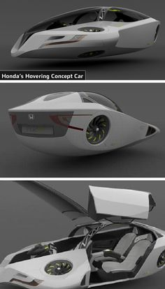 Honda Fuzo Concept - Flying Car