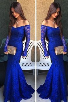 f8442a63b5 Mother Of The Bride Dresses by GlamorDresses on Luulla. Mermaid Prom Dresses  LaceRoyal Blue ...