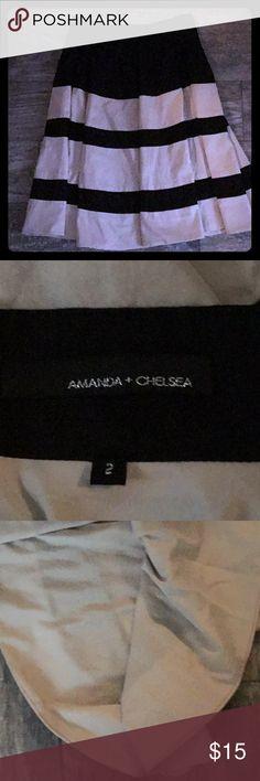 SKIRT Amanda+Chelsea Like new only use a couple of times Amanda & Chelsea Skirts Midi