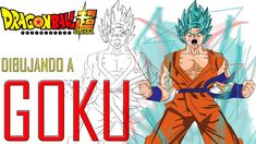 Como dibujar a Goku de Dragon Ball Super/  Drawing GOKU from Dragon Ball...