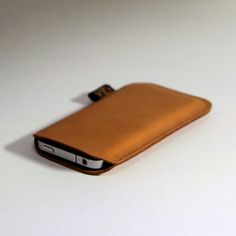 Love this leather iPhone case