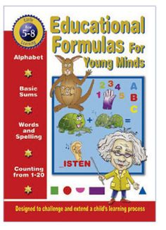 Educational Formulas For Young Minds Belinda Willson  RRP ($A) 9.95 P/B Publisher: Axiom Publishing ISBN: 9781864764345