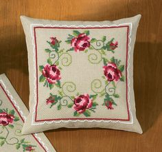 In Full Bloom Cushion Front Cross Stitch Kit | sewandso