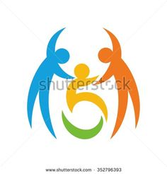 Wheelchair Logos Stock Vectors & Vector Clip Art | Shutterstock