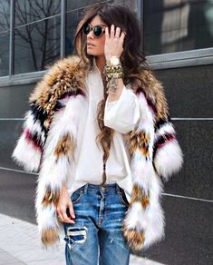 #fur #chic #luxury