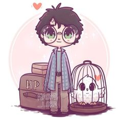 naomi_lord Little Philosopher's Stone era Harry just off to Hogwarts! ✨💕✨ Okay so I have a plan to draw 7 chibi Harry's for each book! Harry James Potter, Harry Potter Tumblr, Fanart Harry Potter, Harry Potter Kawaii, Images Harry Potter, Wallpaper Harry Potter, Arte Do Harry Potter, Cute Harry Potter, Harry Potter Drawings