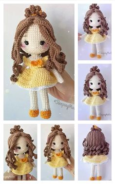 Doll Patterns Free, Crochet Dolls Free Patterns, Crochet Doll Pattern, Amigurumi Patterns, Crochet Dollies, Crochet Bunny, Free Crochet, Crochet Sole, Pattern Cute