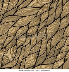 Seamless abstract hand-drawn pattern, waves background. Seamless pattern can be used for wallpaper, pattern fills, web page background,surfa...