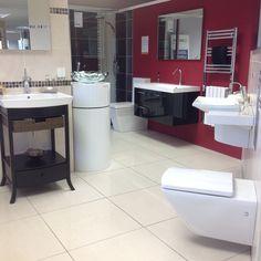 The Gap basin & semi pedestal. | Showroom displays | Pinterest ...