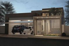 Future House, My House, Facade House, Garages, Modern House Design, Solar Panels, Decoration, My Dream Home, Sweet Home