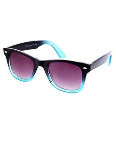 River Island Dip Dye Wayfarer Sunglasses