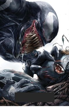 Have you read Venomverse, and if so what are your thoughts? - Everyone's favorite symbiote goes from bad to Venomverse! Venom Comics, Marvel Dc Comics, Comics Anime, Hq Marvel, Marvel Venom, Marvel Villains, Bd Comics, Marvel Heroes, Comic Book Characters