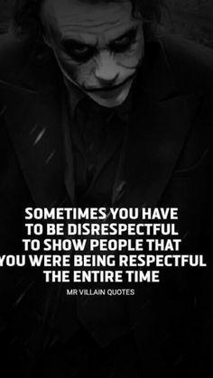 But, so fkn true! Joker Qoutes, Best Joker Quotes, Epic Quotes, Dark Quotes, Badass Quotes, Wisdom Quotes, True Quotes, Words Quotes, Funny Quotes