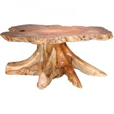 Amish Rustic Big Leaf Burl Coffee Table with Stump Base Barkman Furniture Collection Bring the rustic beauty of nature into your living room with our Amish Rustic Burl Coffee Table. Tree Stump Furniture, Cedar Furniture, Rustic Log Furniture, Live Edge Furniture, Amish Furniture, Handmade Furniture, Cabin Furniture, Western Furniture, Furniture Design