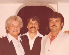 Johnny with Tito Puente