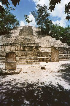 Calakmul, Yucatan, Mexico, ha sido nombrada patrimonio mixto de la humanidad por la UNESCO, por conjuntar riqueza biológica y cultural en el mismo lugar.