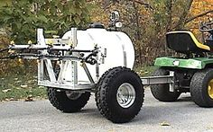 Sprayer for your lawn tractor or ATV Spray lawns or food plots using AGGRAND LIQUID FERTILIZERS Http://keepsumoving.com