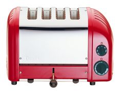 Shop Dualit NewGen Extra-Wide-Slot Toaster Matt black at Best Buy. Find low everyday prices and buy online for delivery or in-store pick-up. Red 4 Slice Toaster, Canteen, Slot, Kitchen Appliances, The Originals, Diy Kitchen Appliances, Home Appliances, Kitchen Gadgets