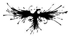 Stunning phoenix tattoo design! eye-catching
