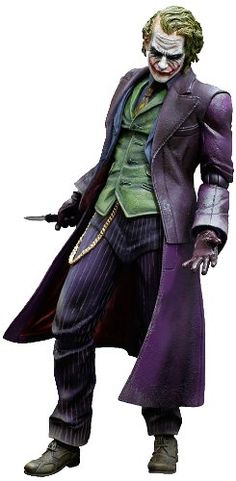 THE DARK KNIGHT TRILOGY Play Arts Kai Joker PVC Action Figure japan import * Read more  at the image link.Note:It is affiliate link to Amazon.