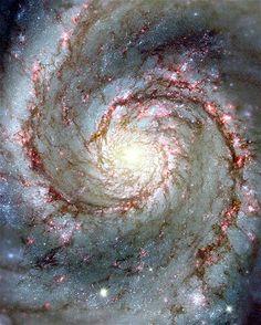 (© NASA/Reuters) photo taken by Hubble Telescope - a natural fractal